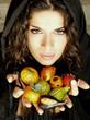 donna con frutta martorana
