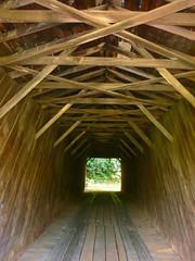 closed wooden bridge  70062