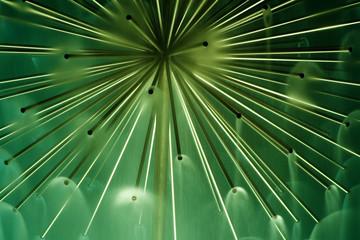 green abastract feeling