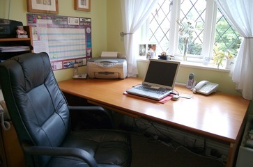 home office work station....