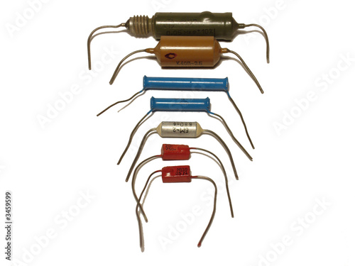 some types of capacitors