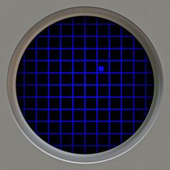 radar tracking of target