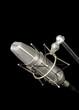 vintage professional microphone