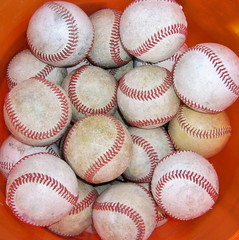 Baseballs in a Bucket