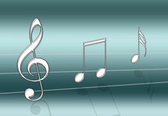 music teal