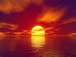 red sunset - 3466977