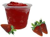 strawberry gelatin poster
