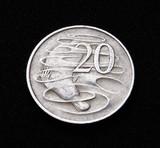 Aaustralian Twenty Cent Coin poster