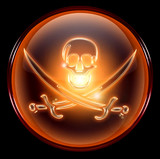 pirate icon. poster