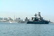 helicopter lands aboard warship - 3477551