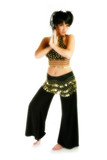 beautiful thirty year old woman in belly dancer co poster