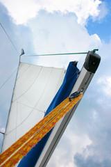 sailboat in the sun