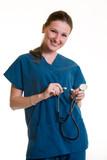 happy healthcare worker poster