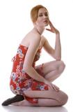 fashion redhead poster