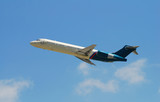 regional jet airplane poster