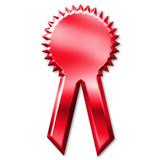 award ribbon poster