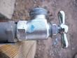 Leinwanddruck Bild - shiny hose bib - up