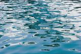 aqua blue water poster