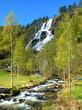 waterfall tvinde in norway - 3491189
