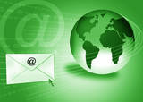 email concept / internet mail poster