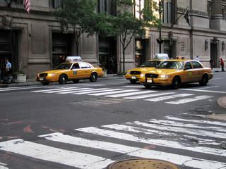 taxis on the move
