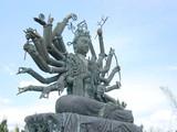 hindu statue poster