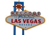 las vegas strip welcome sign poster