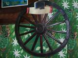 mexique - roue décorative poster