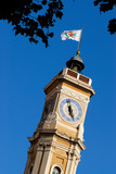 st françois clock tower poster