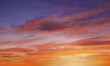brilliant purple orange sunset - 3499107