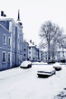 Straubing under snow