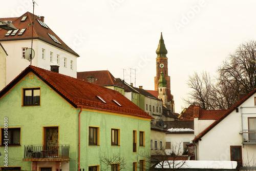 Basilica overlooking Town