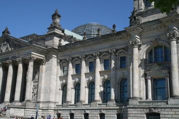 Reichtsag in Berlin mit Kuppel