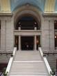 legislative building stairs