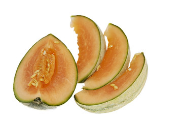 slices of a melon