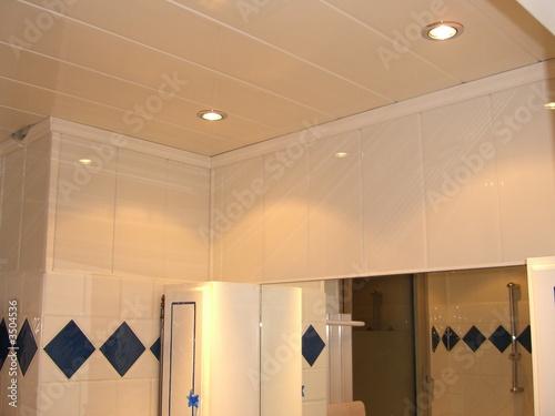 Plafond salle de bain photo libre de droits sur la for Plafond salle de bain moisi