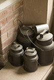 shaker milk churns