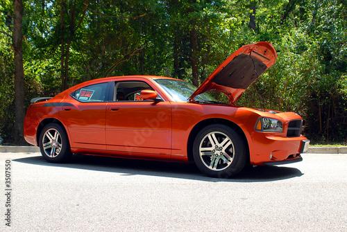 Foto op Canvas Snelle auto s classy car for sale