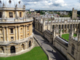 oxford university, with radcliffe camera poster