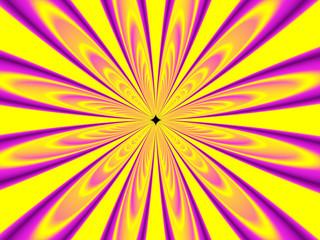 fiore solare radiale