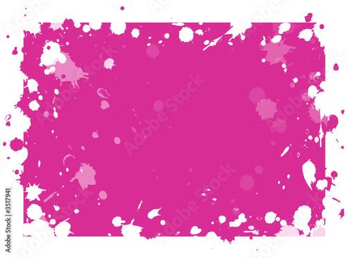 taches de peinture rose