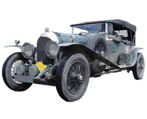 retro rally automobile