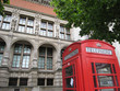 london telephone booth and museum