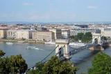 Budapest skyline poster