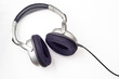 earphones with clipping path