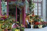 boutique de fleurs poster