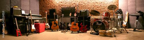 Leinwanddruck Bild instrumentos musicales