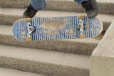skateboard trick poster