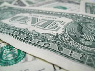 dollar close-up