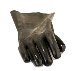 worker's gloves isolated on white background